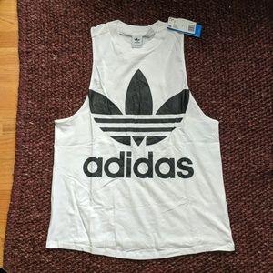 Adidas tank top, size large
